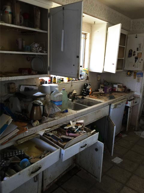 Before Kitchen Removal