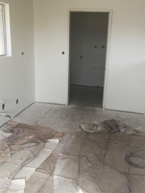 After Kitchen Removal